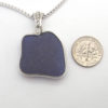 cobalt blue bezeled necklace 2 3