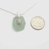 turtle sea glass necklace 3