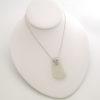 white sea glass necklace 3