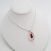 red sea glass free fall necklace 3