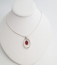 red sea glass free fall necklace5