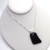 black sea glass necklace 3