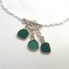 teal 3 piece necklace 3