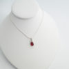 new red necklace