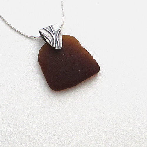chocolate brown sea glass necklace_edited-1