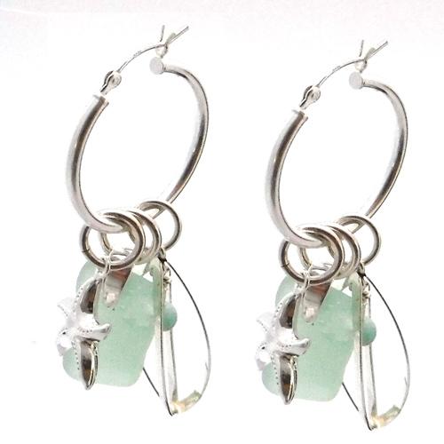green interchangeable earrings 5