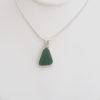 teal green sea glass neckace3