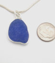 blues sea glass necklace 3
