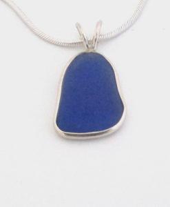 cobalt blue sea glass necklace_edited-1