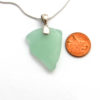 mint green sea glass necklace3