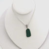 teal sea glass necklace 3