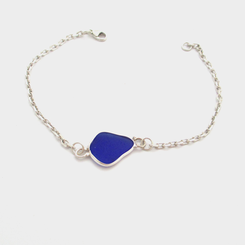 best anklets suede jewelry bracelet pretty pinterest silver heart with rabeeahshazad images on anklet glass blue and sea of piece