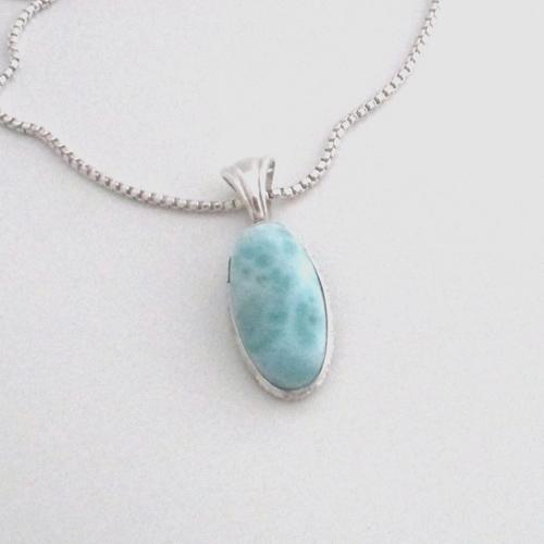 larimar necklace 3