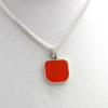 orange sea glass 5