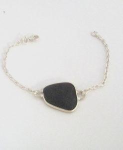 black-sea-glass-bracelet