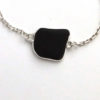 black sea glass bracelet 3