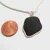 black sea glass necklace3
