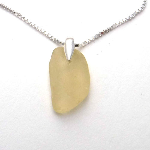 yellow sea glass 1