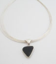 black sea glass necklace 6