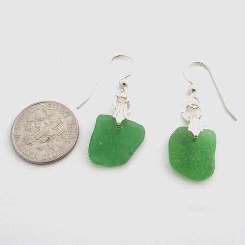 Kelly Green Sea Gl Earrings 3