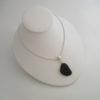 new black sea glass necklace 3