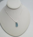 dainty wedgwood blue sea glass necklace5
