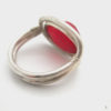 red sea glass ring 7