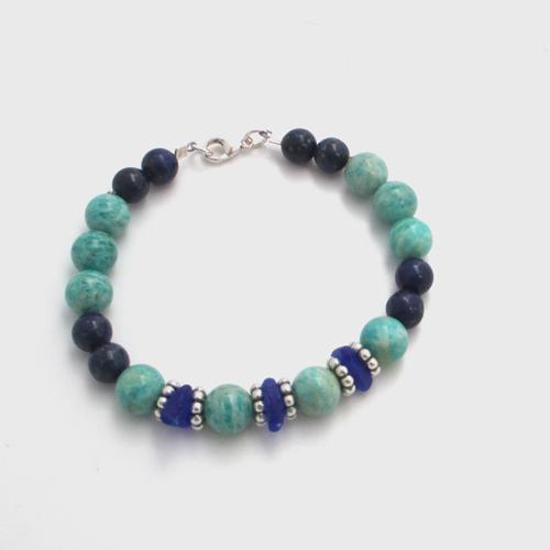 turquoise and lapis bracelet_1