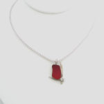 orangy red sea glass necklace 3_edited-1