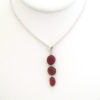 red sea glass necklace4