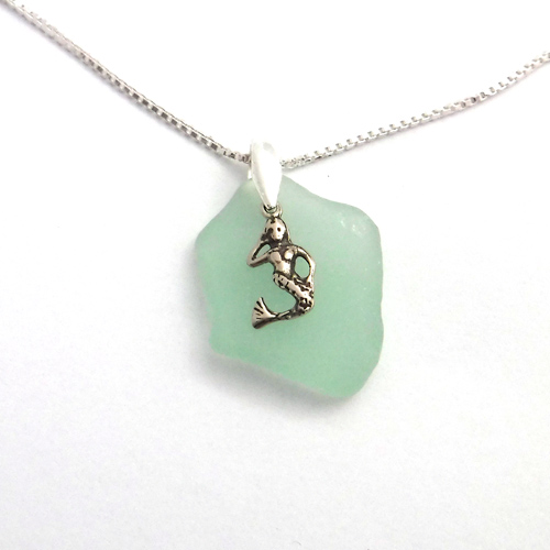 Mermaid Sea Glass Necklace 1