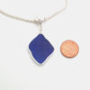 cobalt blue bezeled necklace 3