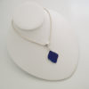 cobalt blue bezeled necklace 5