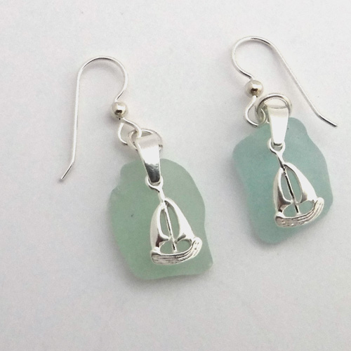 sailboat earrings 1