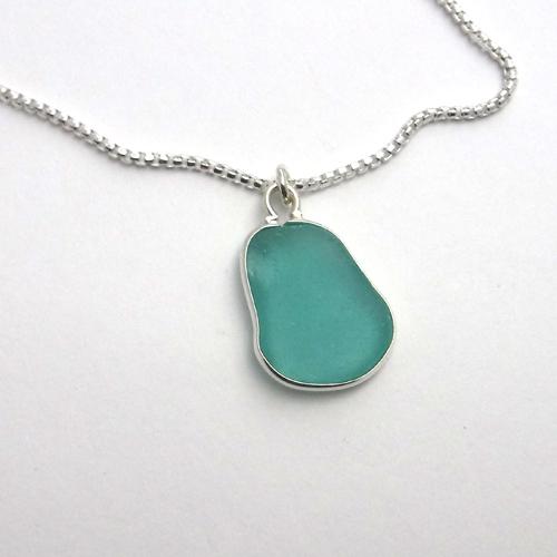 bezel turquoise sea glass 1