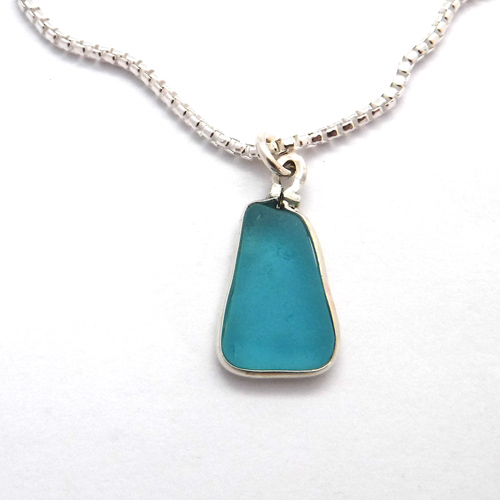 sea glass necklace 1