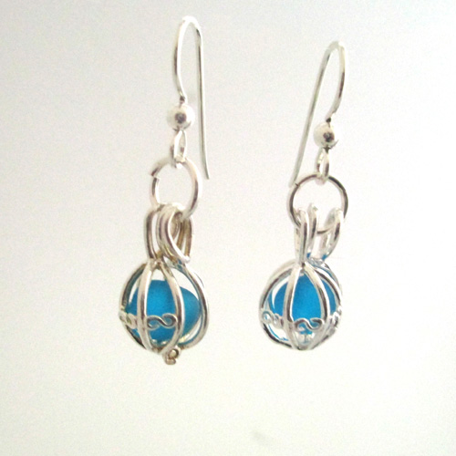 turquoise earrings 1