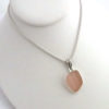 pink sea glass necklace 3