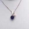 blue sea glass necklace 3