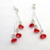 red earrings 3