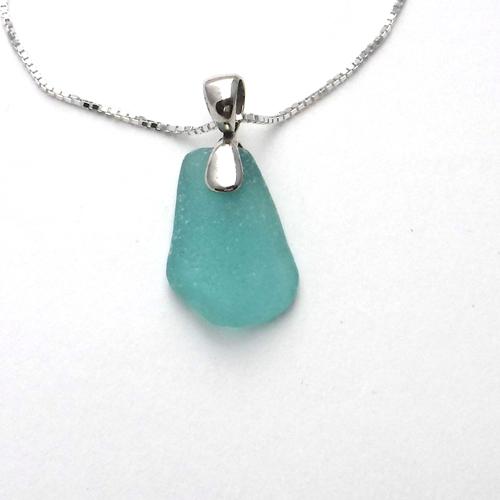 turquoise sea glass 1