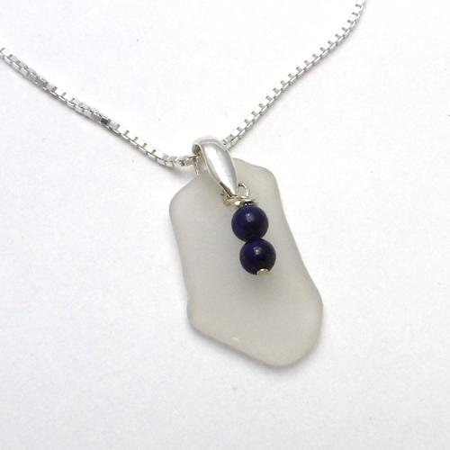 lapis beads necklace 1