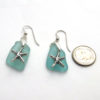 turquoise earrings with starfish 3